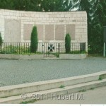 Ansicht Kriegerdenkmal