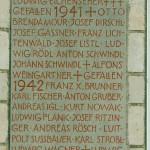 Namensnennung 1-2. Weltkrieg