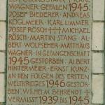 Namen gefallen 2.Weltkrieg