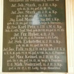 Gedenktafel 1.Weltkrieg