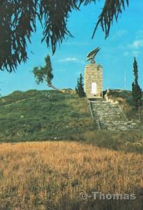 Fallschirmjäger Denkmal auf Kreta