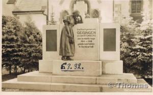 Geisingen Ehrenmal
