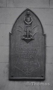 Heilbron Gedenktafl Rathaus